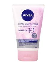 Nivea Extra White Repair Pore Minimiser Scrub 100g