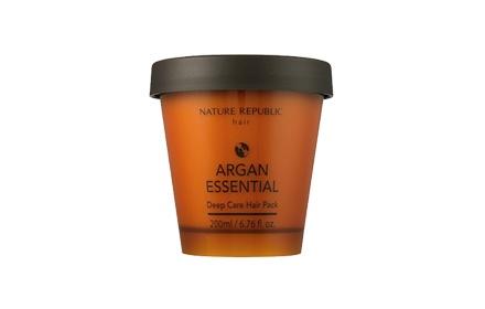 Nature Republic - Argan Essential Deep Care Hair Pack 200ml